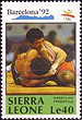 Stamp from Sierra Leone