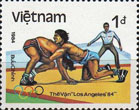 Stamp from Vietnam