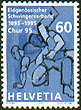 Stamp from Switzerland