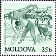 Stamp from Moldova