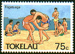 Stamp from Tokleau