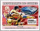 Stamp from Guinee